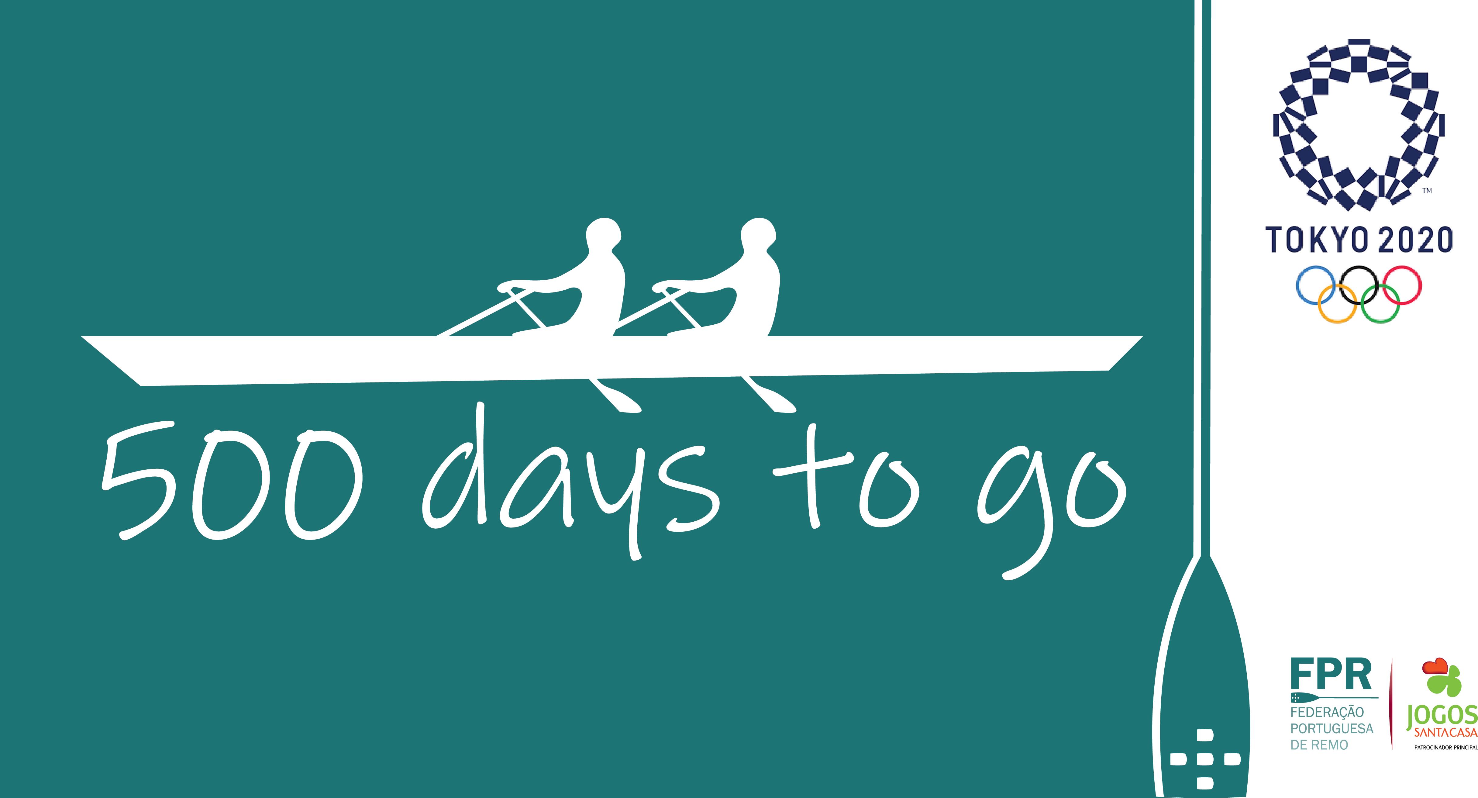 Faltam 500 dias para o início dos Jogos Olímpicos de 2020