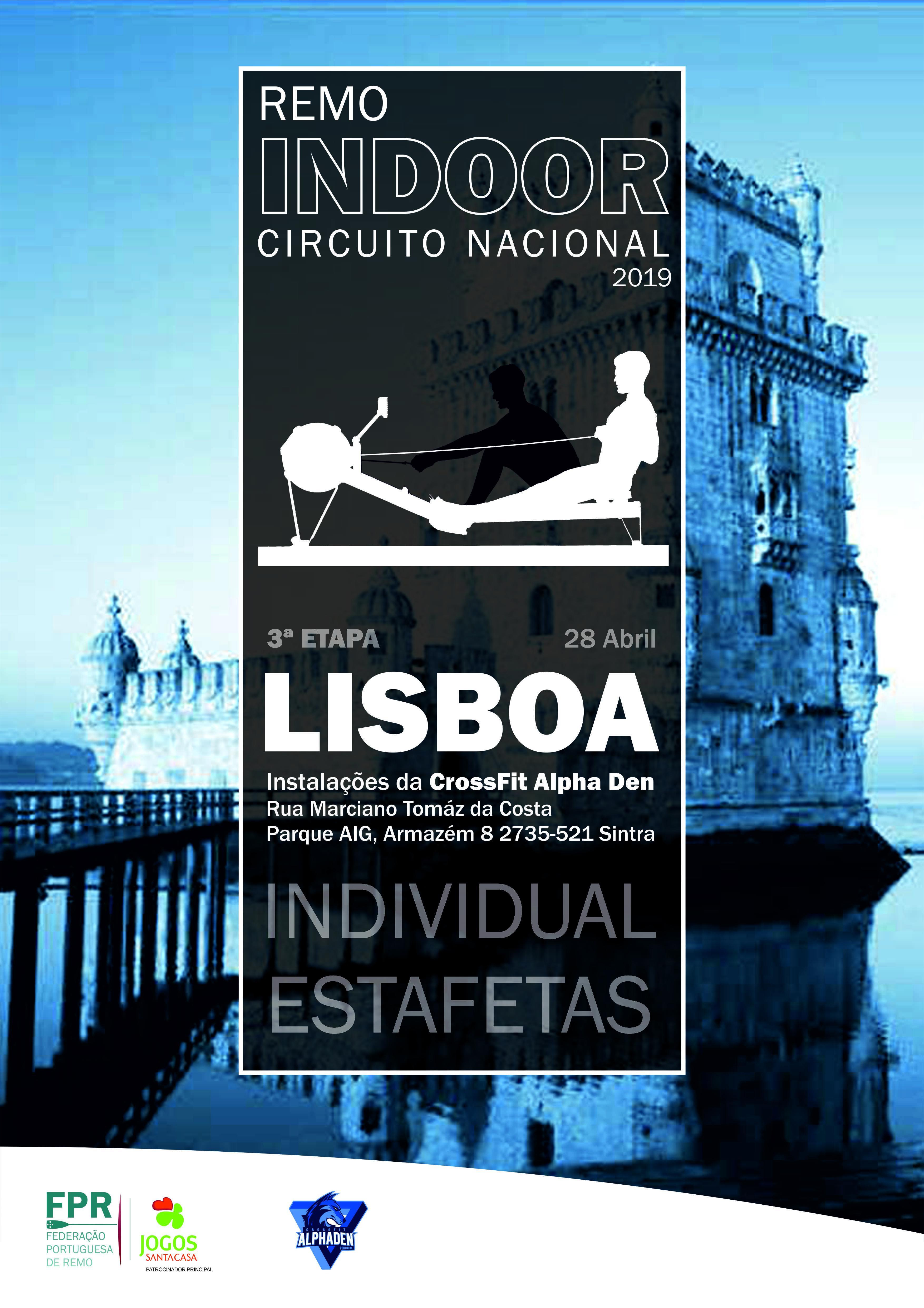 3ª Etapa do Circuito Nacional de Remo Indoor - Cacém, Lisboa