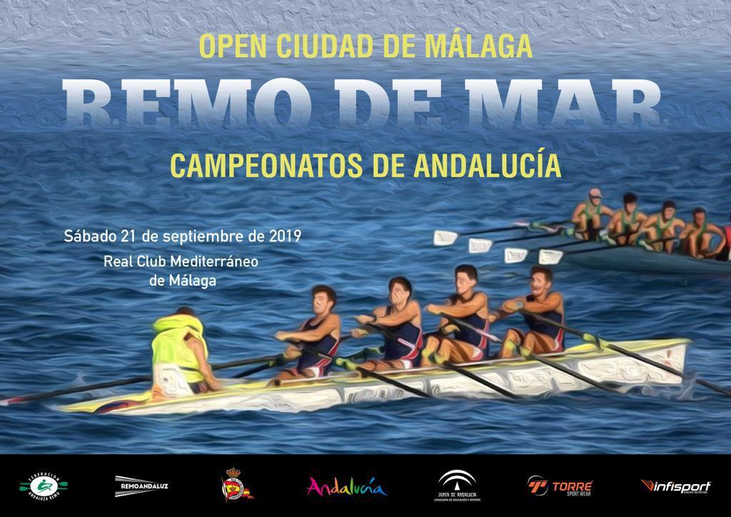 Regata Open Ciudad de Málaga - Remo de Mar
