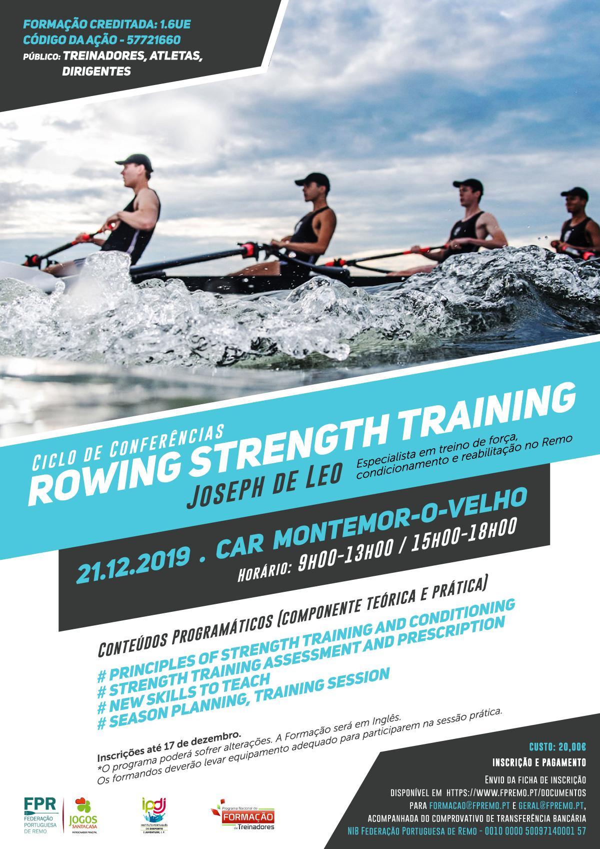 Ciclo de Conferências - Rowing Strength Training