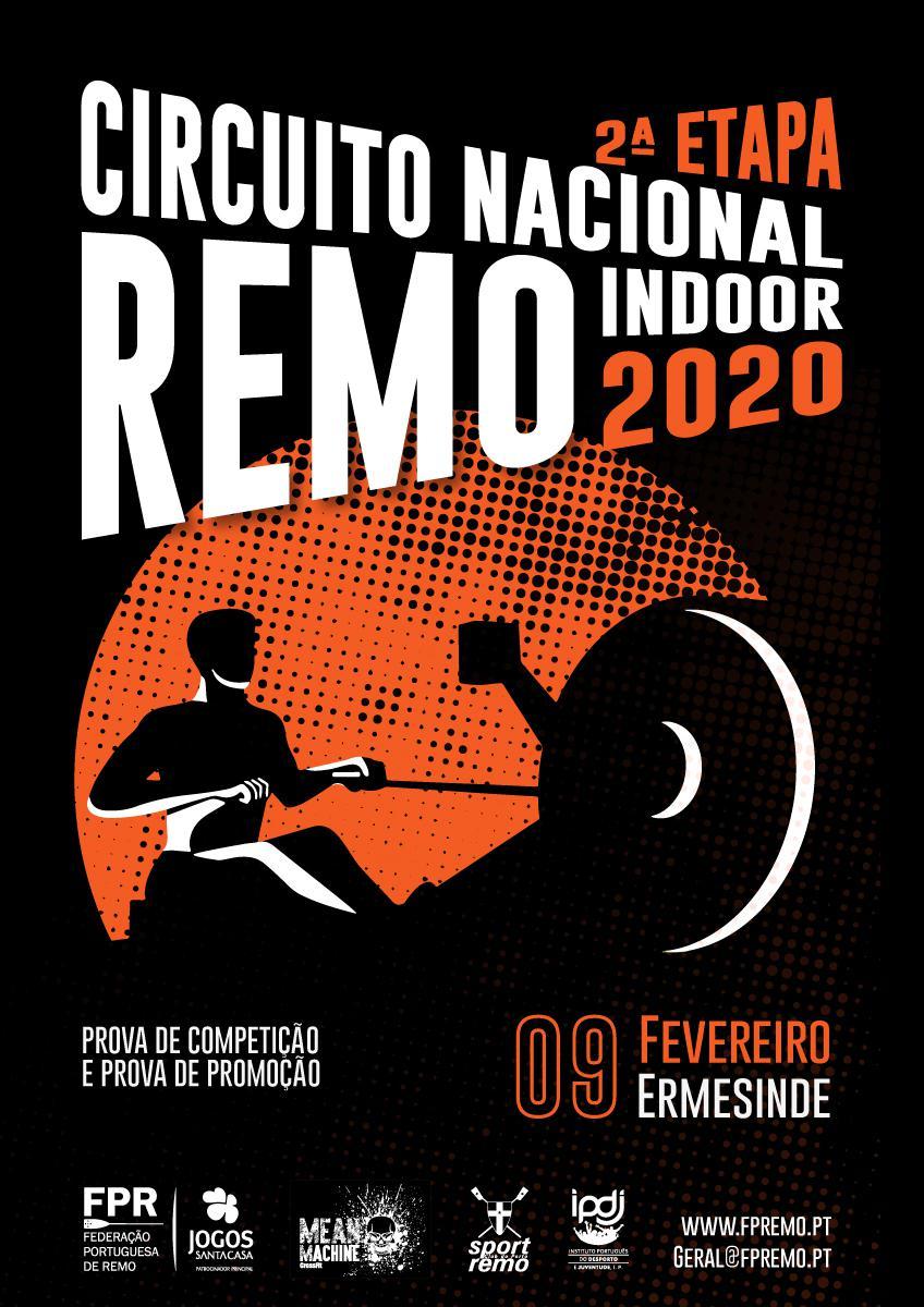 2ª Etapa do Circuito Nacional de Remo Indoor 2020